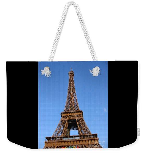 Eiffel Tower 2005 Ville Candidate Weekender Tote Bag