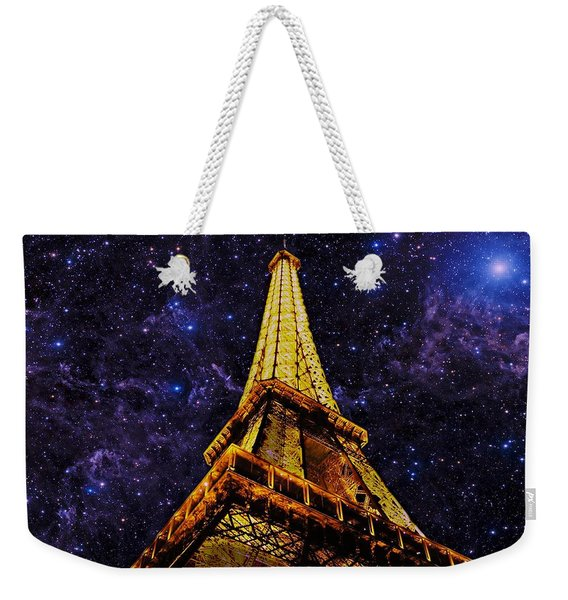 Eiffel Tower Photographic Art Weekender Tote Bag