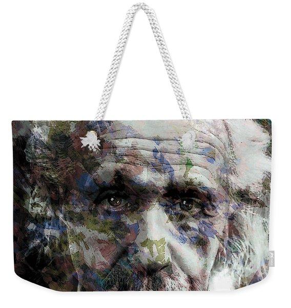 Einstein Genius Weekender Tote Bag