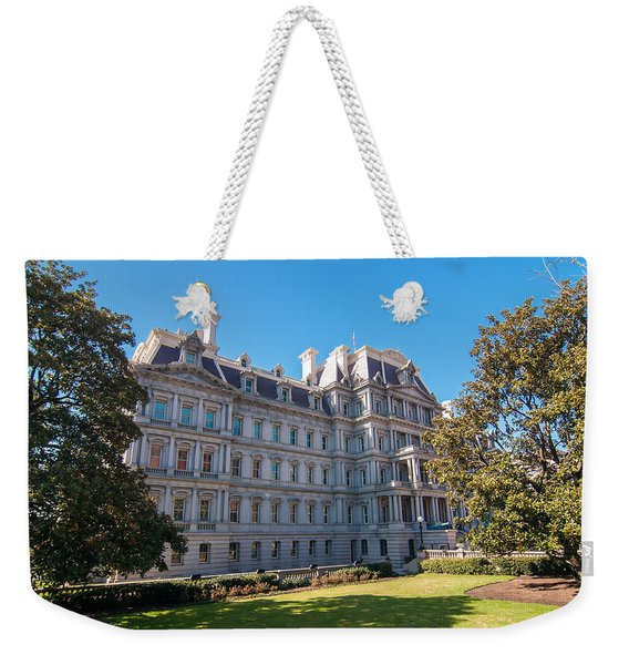 Eisenhower Executive Office Building In Washington Dc Weekender Tote Bag