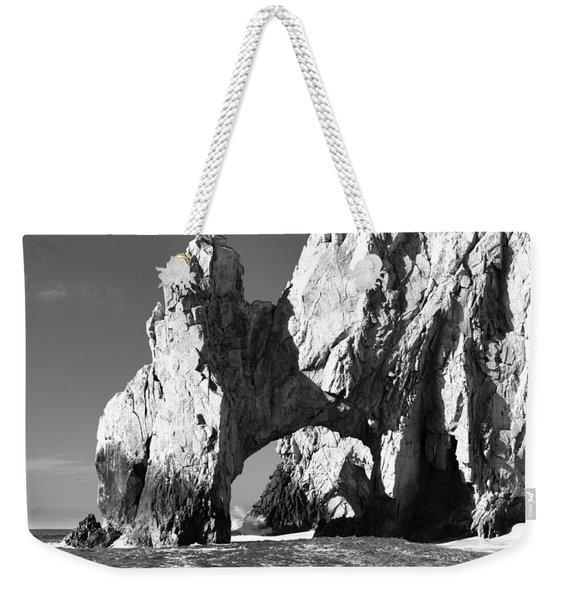 El Arco In Black And White Weekender Tote Bag