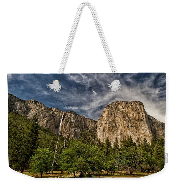 El Capitan And Ribbon Falls Weekender Tote Bag