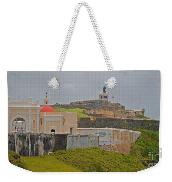 Scenic El Morro Weekender Tote Bag