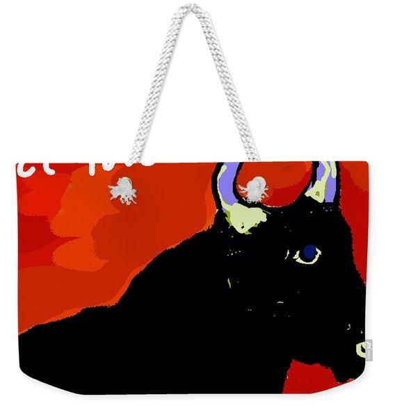 El Toro Weekender Tote Bag