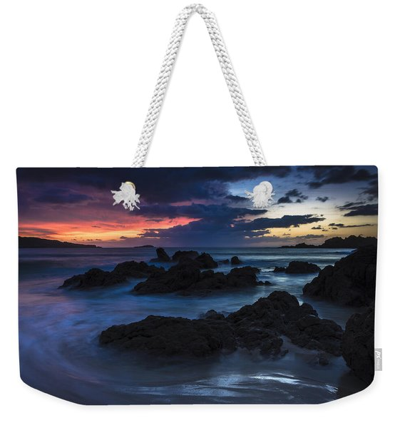 El Villar Beach Galicia Spain Weekender Tote Bag