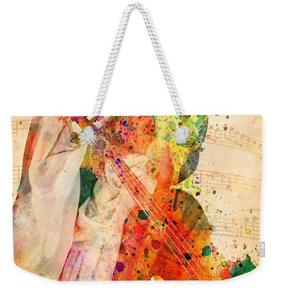 El Violin  Weekender Tote Bag