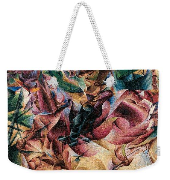 Elasticity Weekender Tote Bag