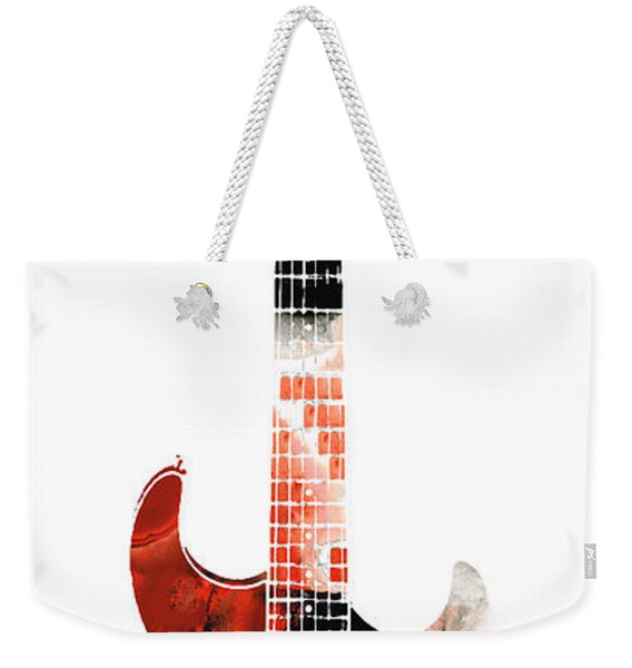 Electric Guitar - Buy Colorful Abstract Musical Instrument Weekender Tote Bag