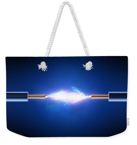 Electric Current / Energy / Transfer Weekender Tote Bag
