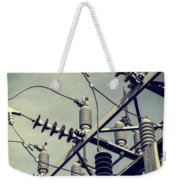 Electricity Weekender Tote Bag