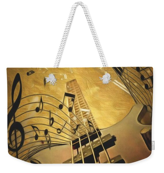 Electrifying Guitar  Weekender Tote Bag