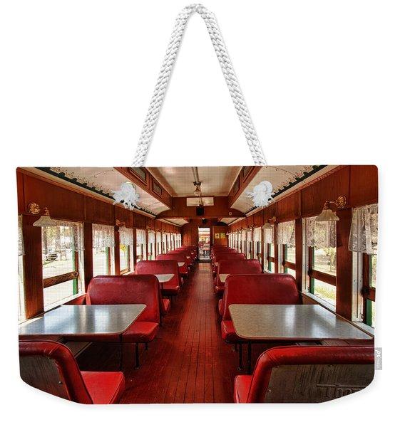 Elegance Past Weekender Tote Bag