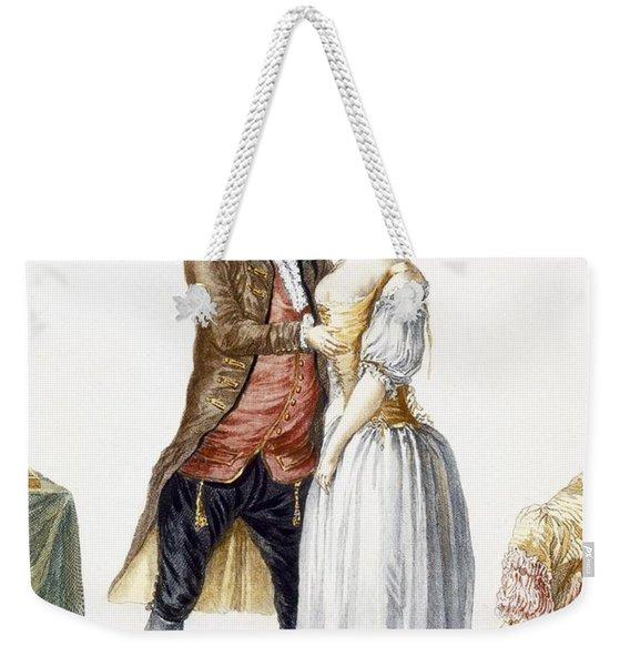 Elegant Lady At A Fitting Weekender Tote Bag