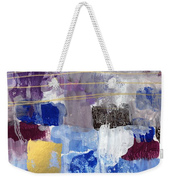Elemental- Abstract Expressionist Painting Weekender Tote Bag