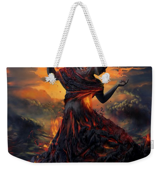 Elements - Fire Weekender Tote Bag
