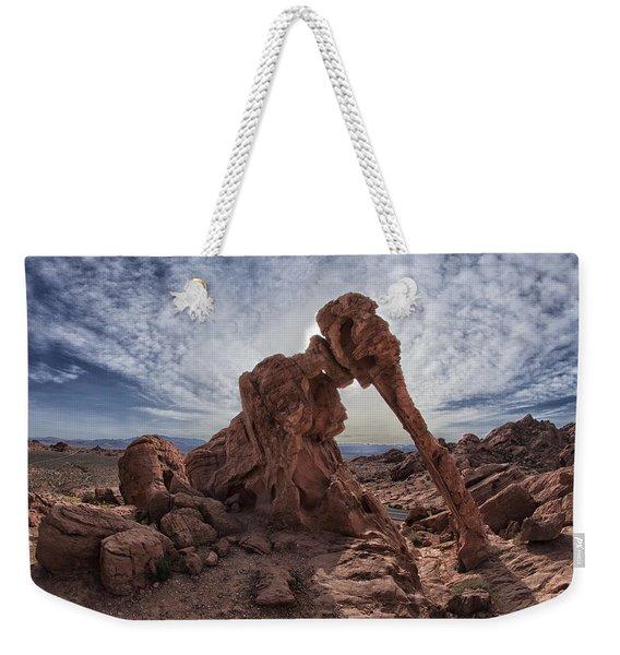 Elephant Rock Weekender Tote Bag