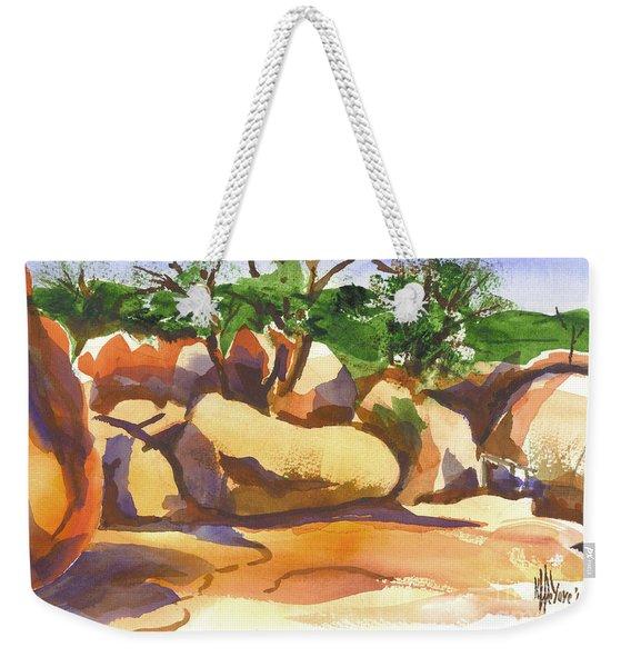 Elephant Rocks Revisited I Weekender Tote Bag