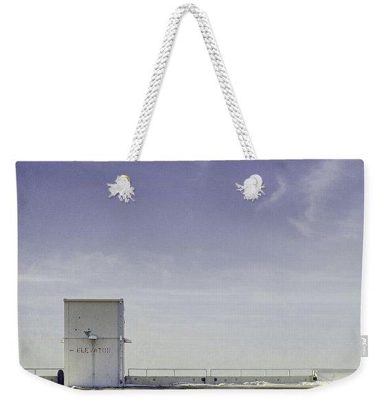 Elevator Weekender Tote Bag