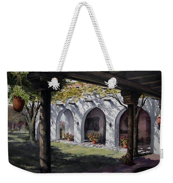 Elfrida Courtyard Weekender Tote Bag