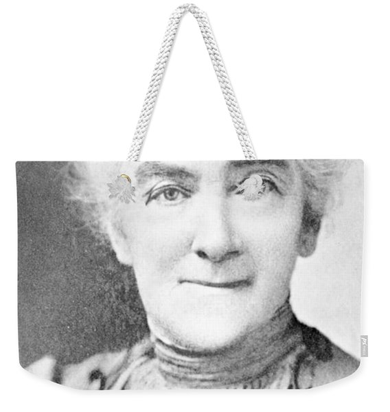 Ellen Swallow Richards, American Chemist Weekender Tote Bag