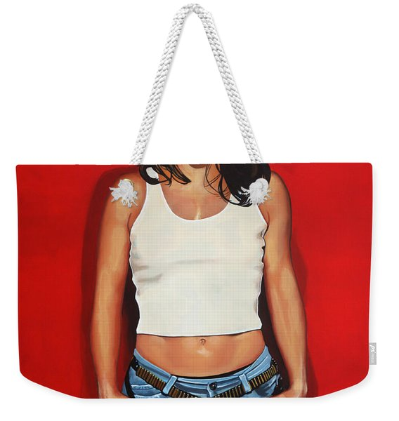 Ellen Ten Damme Painting Weekender Tote Bag