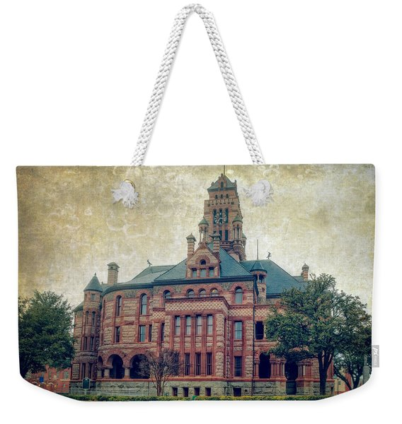 Ellis County Courthouse Weekender Tote Bag