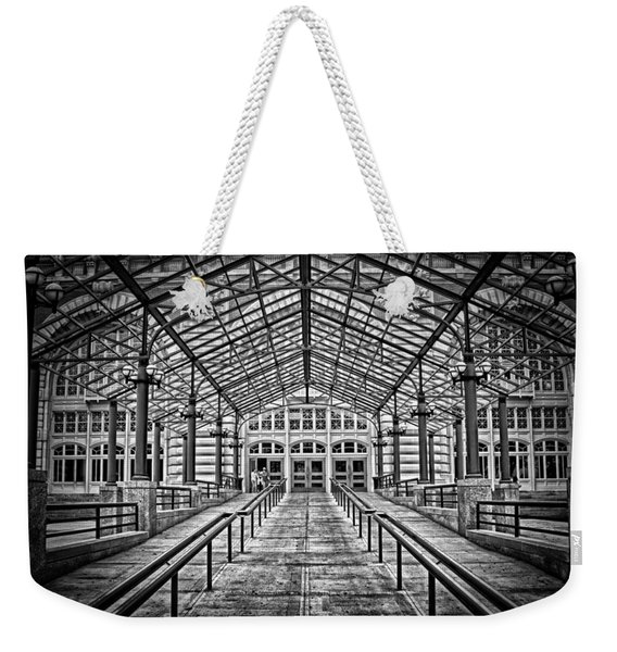 Ellis Island Entrance Weekender Tote Bag