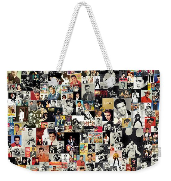 Elvis The King Weekender Tote Bag
