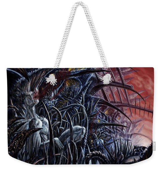 Embedded Into A World Of Pain Weekender Tote Bag