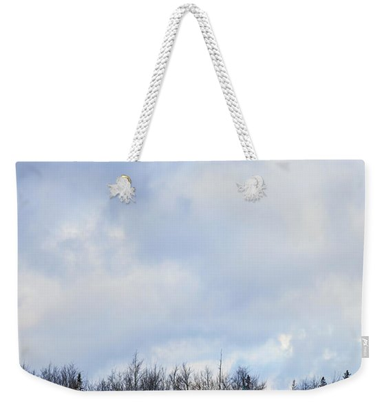 Embrace The Cold Weekender Tote Bag