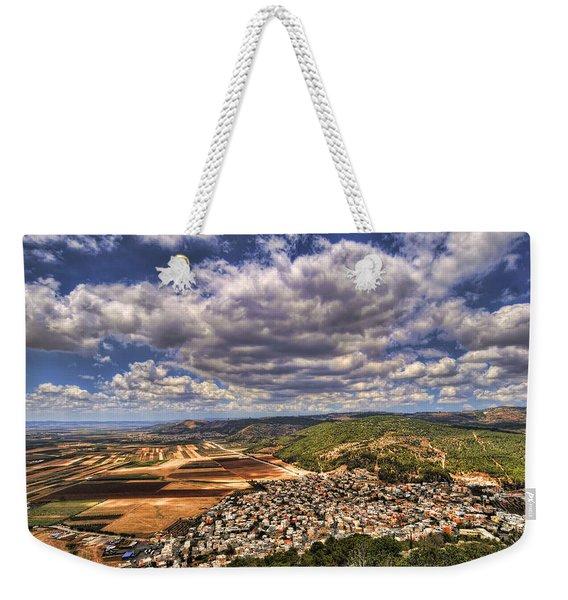 Emek Israel Weekender Tote Bag