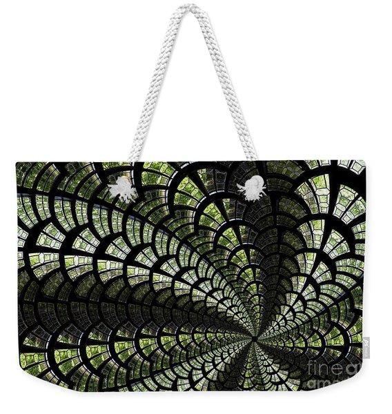 Emerald Whirl. Weekender Tote Bag