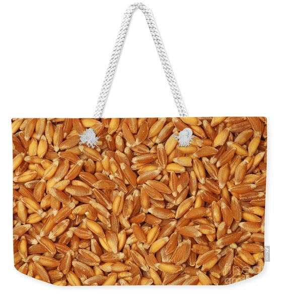 Emmer Wheat Grains Weekender Tote Bag