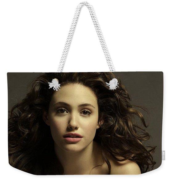 Emmy Rossum Weekender Tote Bag