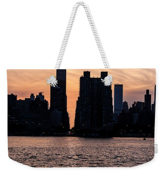 Empire On 5th Avenue Weekender Tote Bag