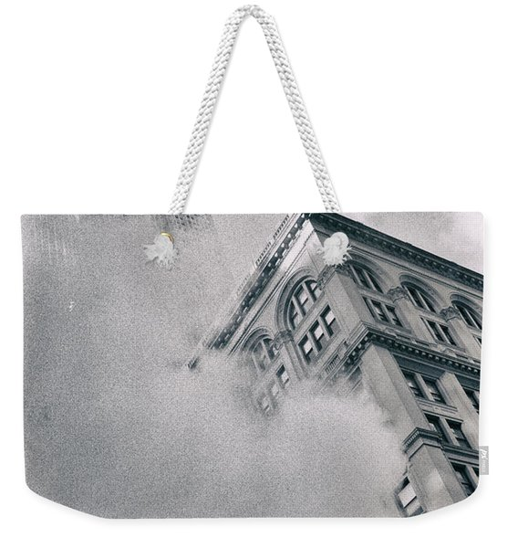 Empire State Building And Steam Weekender Tote Bag
