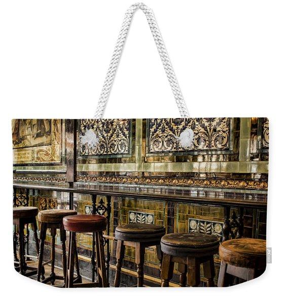 Empty Pub Weekender Tote Bag