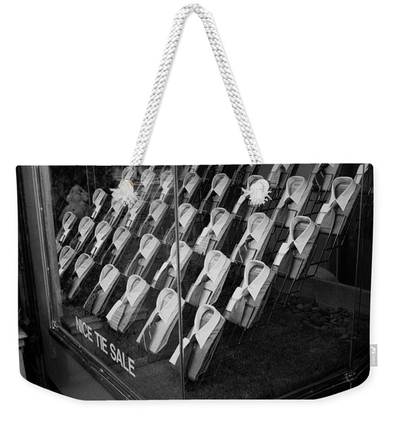 Empty Shirts Weekender Tote Bag