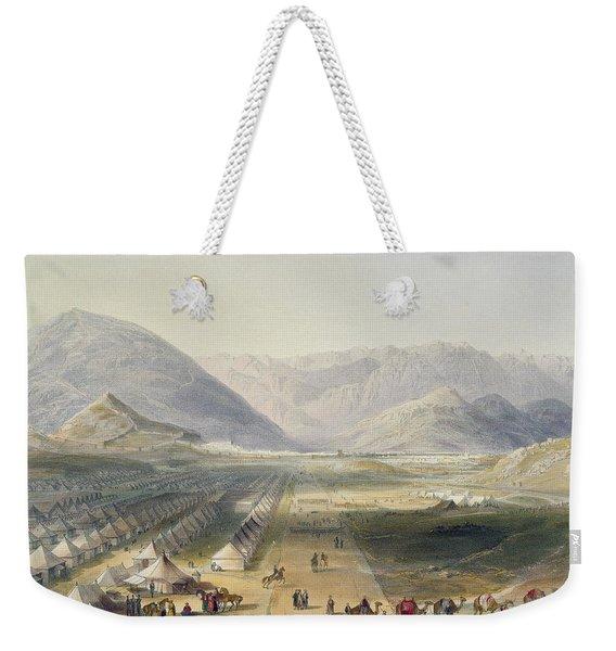 Encampment Of The Kandahar Army Weekender Tote Bag
