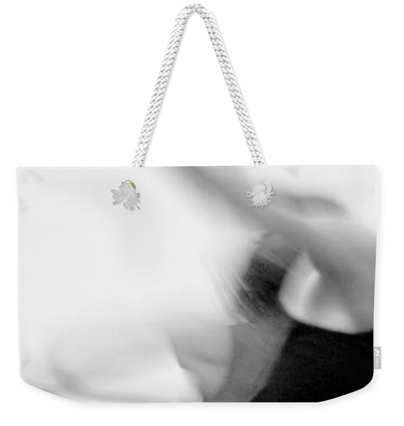Weekender Tote Bag featuring the photograph Encore 4 by Catherine Sobredo