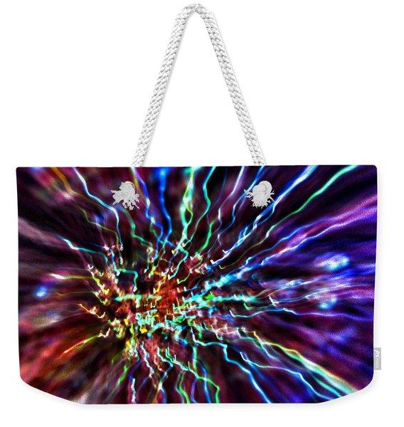 Energy 2 - Abstract Weekender Tote Bag
