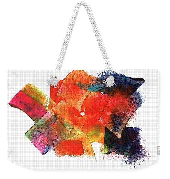 Energy Abundance Weekender Tote Bag
