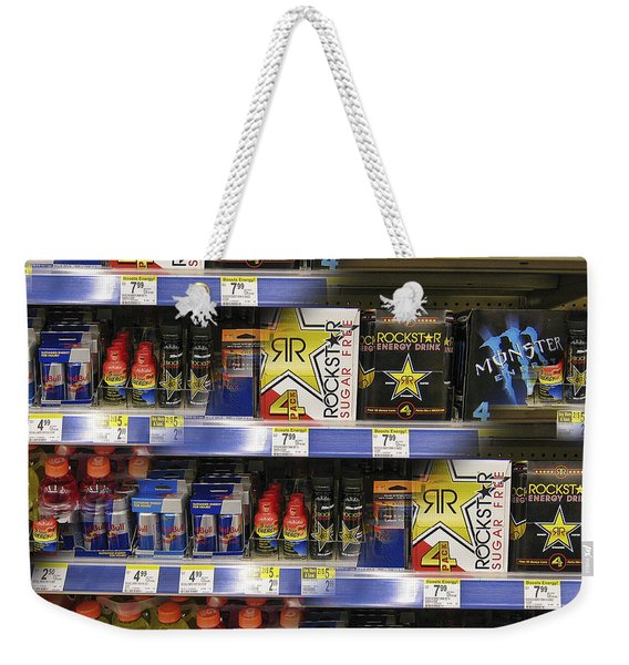 Energy Prism Weekender Tote Bag