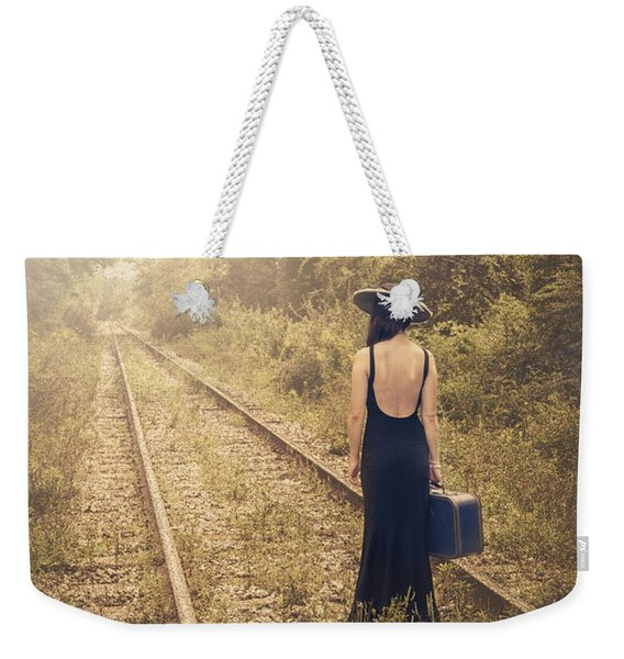 Engaged With Destiny Weekender Tote Bag