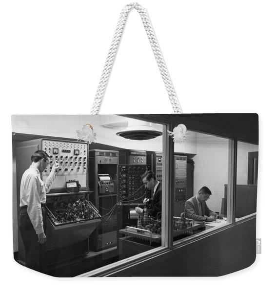 Engineers Use Analog Computers Weekender Tote Bag