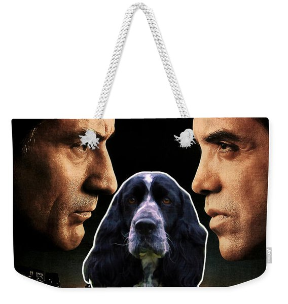 English Springer Spaniel Art Canvas Print - A Bronx Tale Movie Poster Weekender Tote Bag