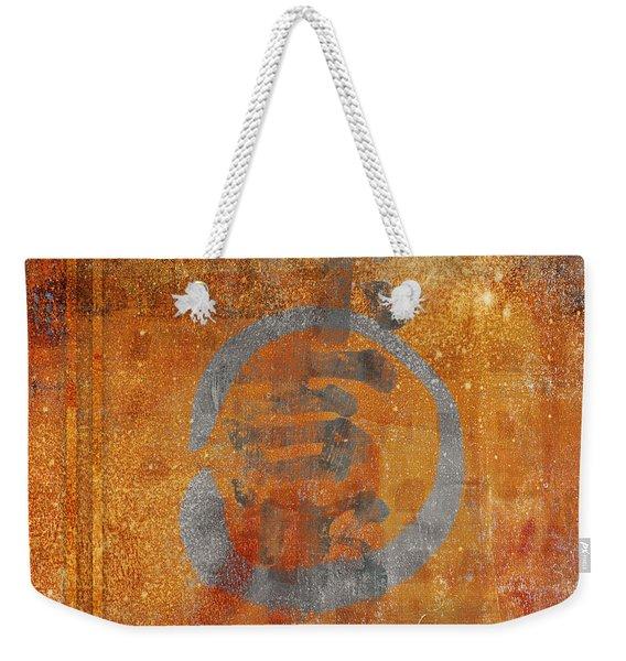 Enso Circle Weekender Tote Bag