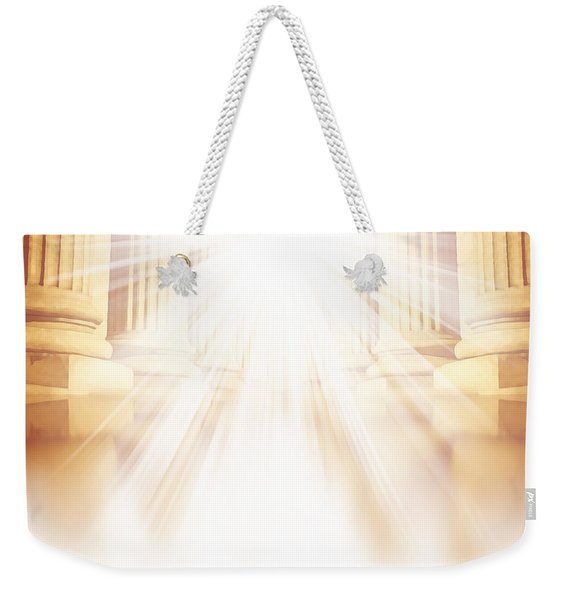 Enter Into His Courts Weekender Tote Bag