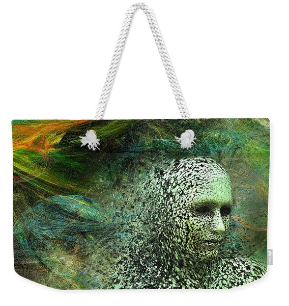 Entering A New Dimension Weekender Tote Bag