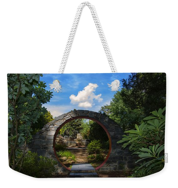 Entering The Garden Gate Weekender Tote Bag